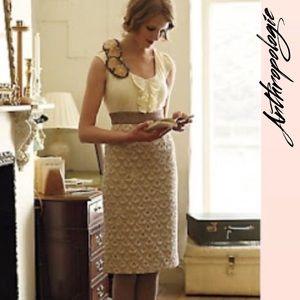 "ANTHROPOLOGIE Floreat ""Babergh"" dress."